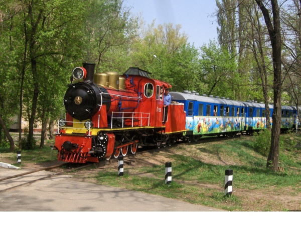3: Kiev Children's Railway in the Ukraine celebrated it's 60th Anniversary in May 2013 (Photo by Ivor Harding).